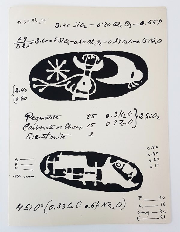 Lithographier Originale (slightly aged) - Joan Miro