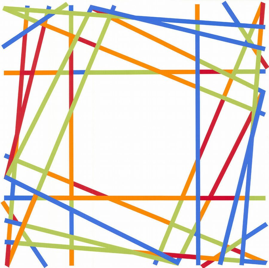 Untitled Geometric Composition - Kenneth Martin